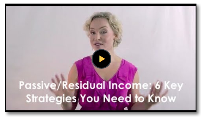 6 Strategies For Passive and Residual Income